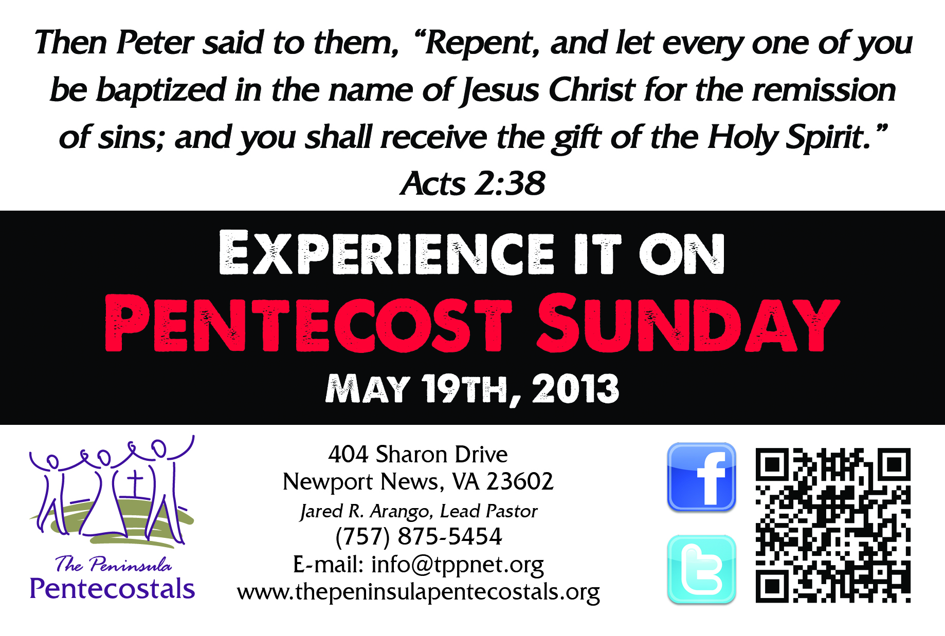 DO Acts 2:39 - Experience it!